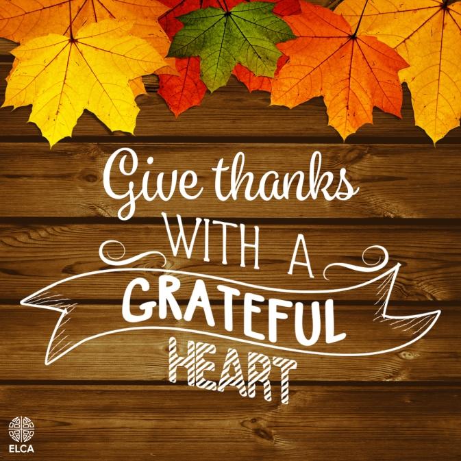 Thanksgiving Grateful Heart